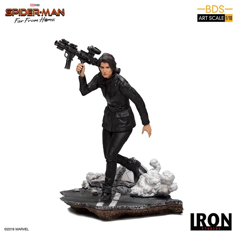 Hahmot Spiderman: Far From Home - Maria Hill