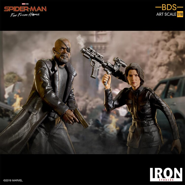 Hahmot Spiderman: Far From Home - Nick Fury