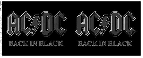 AC/DC - Back in Black Muki