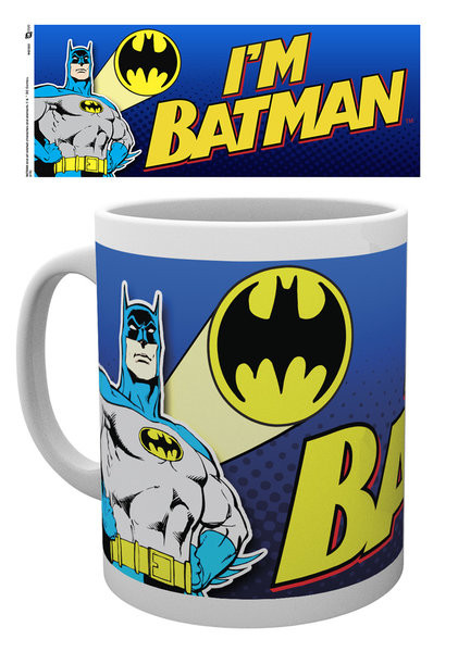 Batman Comic - I'm Batman Bold Muki