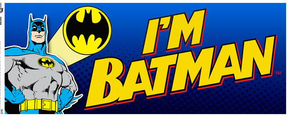 Batman Comic - I'm Batman Bold Muki