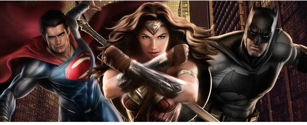 Batman v Superman: Dawn of Justice - Trio Muki