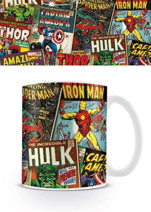 Muki Marvel Retro - Covers