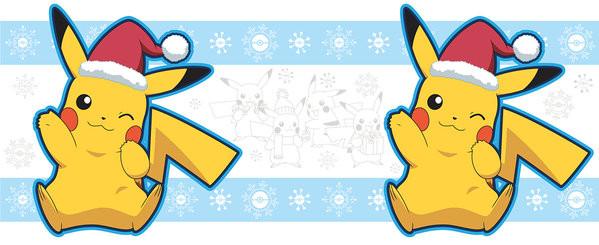 Pokemon - Pikachu Santa Muki