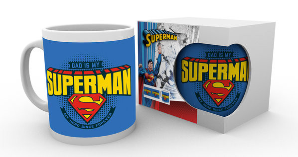 Superman - Dad is Superman Muki