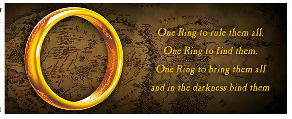 Muki Taru sormusten herrasta – One Ring
