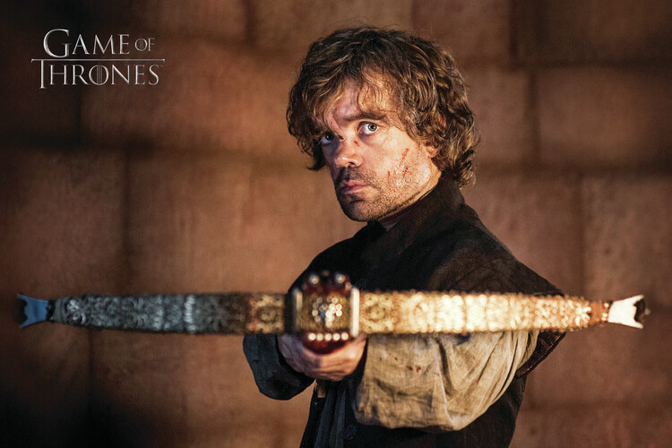 Murais de parede A Guerra dos Tronos - Tyrion Lannister