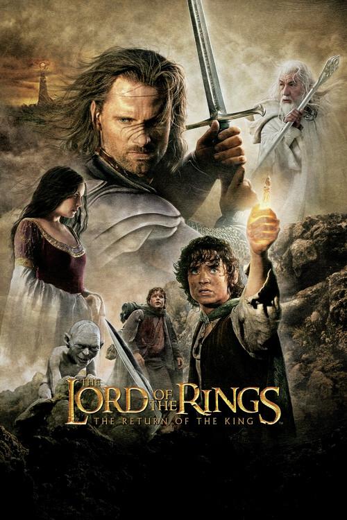 Murais de parede A Irmandade do Anel - O retorno do Rei