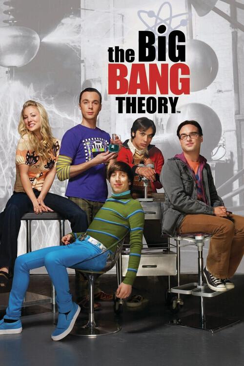 Murais de parede A Teoria do Big Bang - Personagens