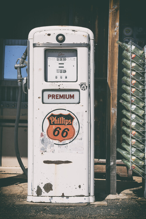 Murais de parede American West - Gas Station Premium 67