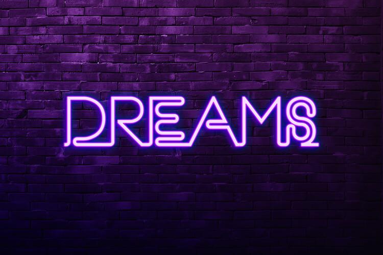 Murais de parede Dreams