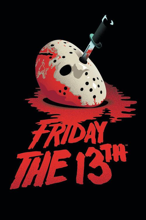 Murais de parede Friday the 13th - Blockbuster