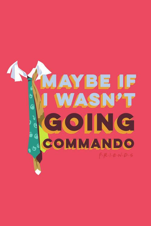 Murais de parede Friends - Commando