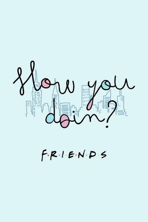 Murais de parede Friends - How you doin?