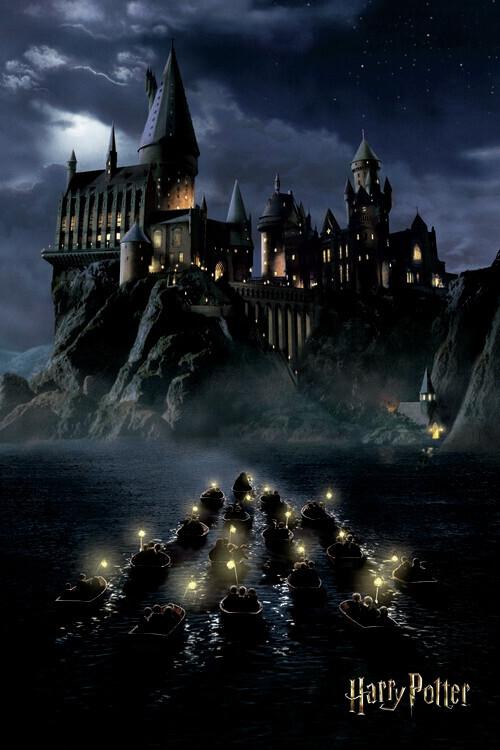 Murais de parede Harry Potter - Hogwarts