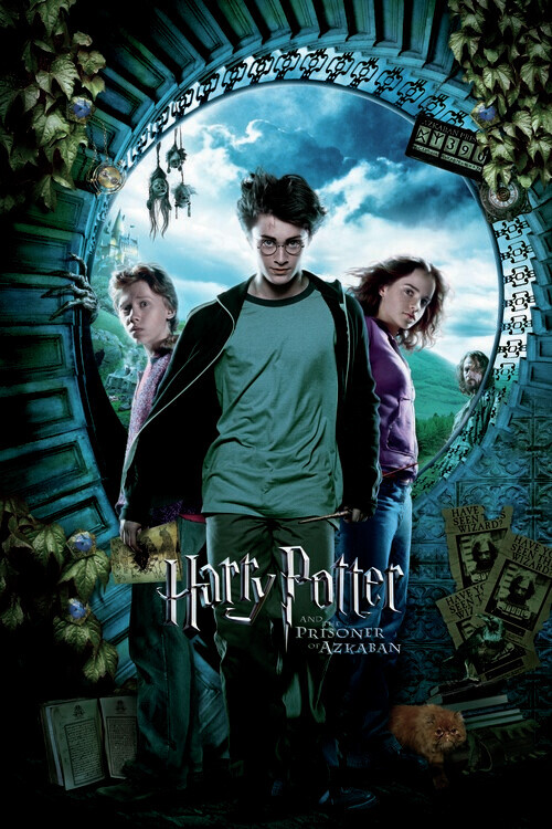 Murais de parede Harry Potter - O Prisioneiro de Azkaban