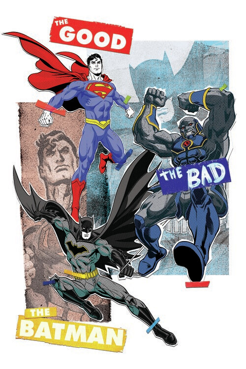 Murais de parede Liga da Justiça - Battle for Justice