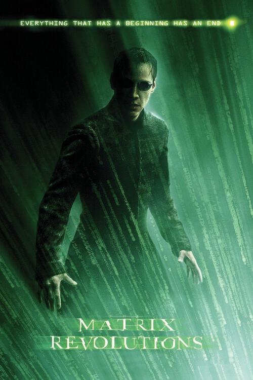Murais de parede Matrix Revolutions - Neo