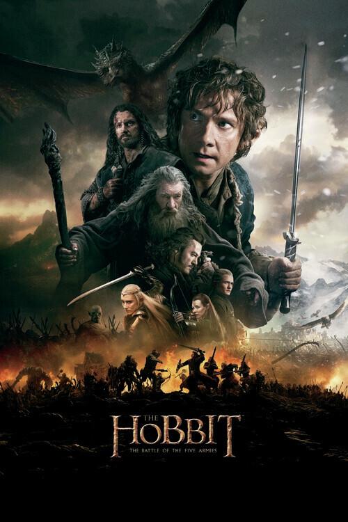 Murais de parede O Hobbit - A Batalha dos Cinco Exércitos