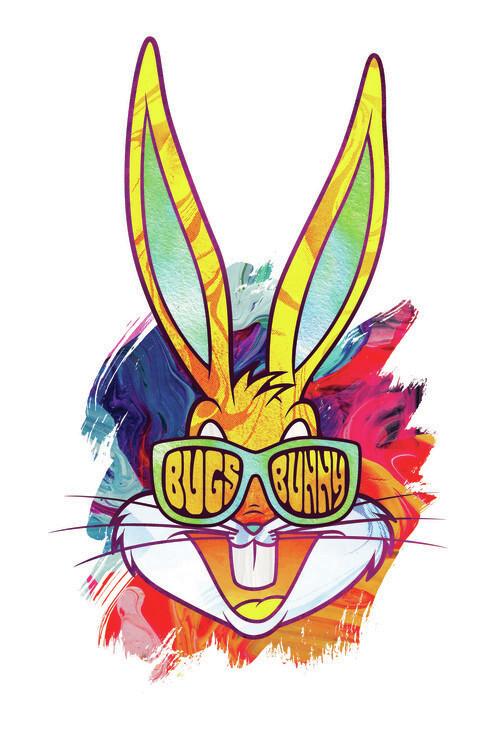 Murais de parede Reggae Bugs Bunny