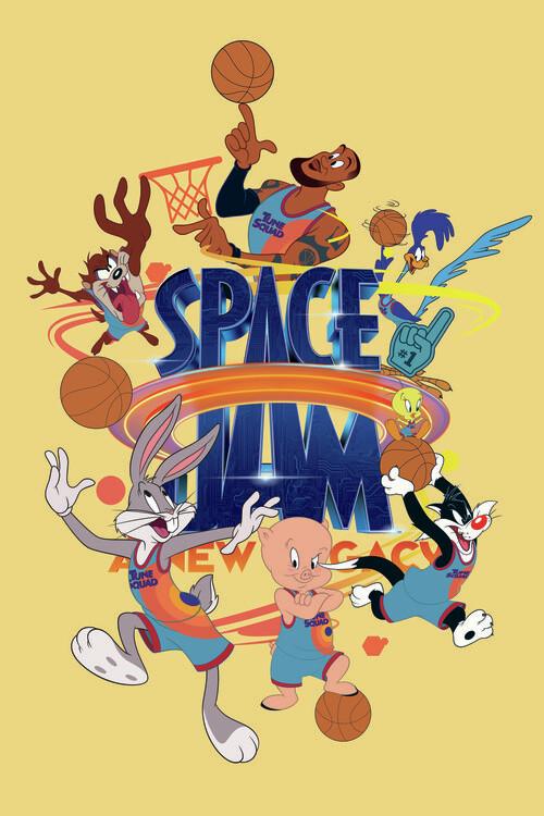Murais de parede Space Jam 2 - Tune Squad  2