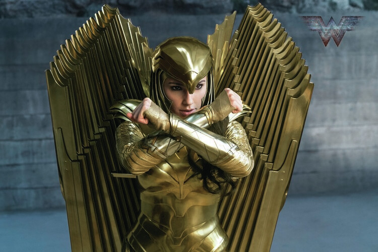 Murais de parede Wonder Woman 84 - Golden