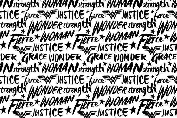 Murais de parede Wonder Woman - Justice