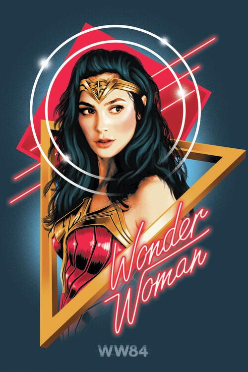 Murais de parede Wonder Woman - Welcome to the 80s