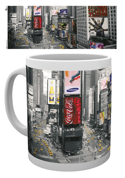 Cup New York - Times square