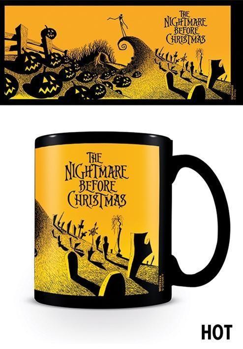 Cup Nightmare Before Christmas - Graveyard Scene