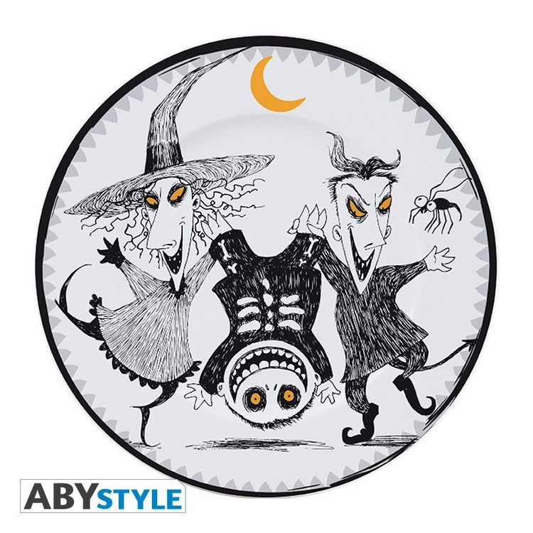Dishes Nightmare Before Christmas - Jack & Cie