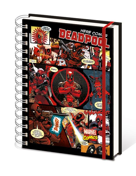 Notebook Deadpool