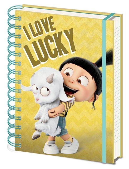 Notebook Despciable Me 3 - I Love Lucky