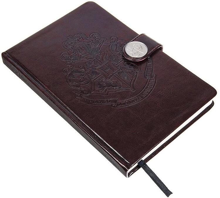 Notebook Harry Potter - Hogwarts Crest / Clasp Premium