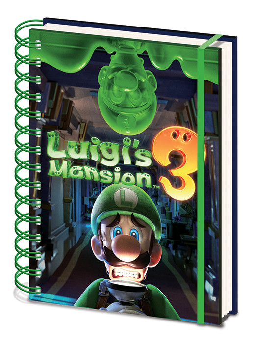 Notebooks Luigi S Mansion 3 Gooigi Buy At Europosters Eu