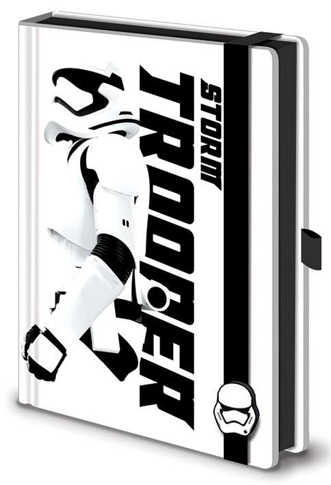 Notebook Star Wars Episode VII: The Force Awakens - Stormtrooper Premium A5