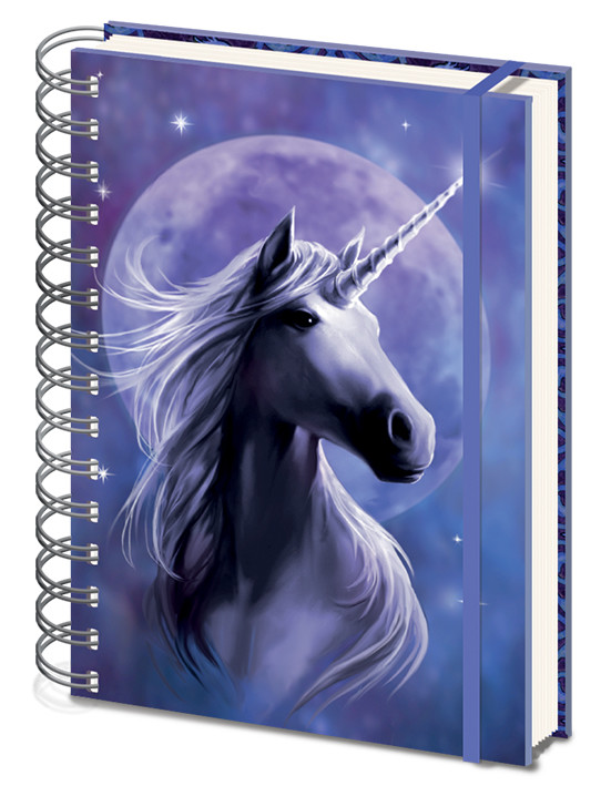 Anne Stokes - Unicorn Starlight Notebook