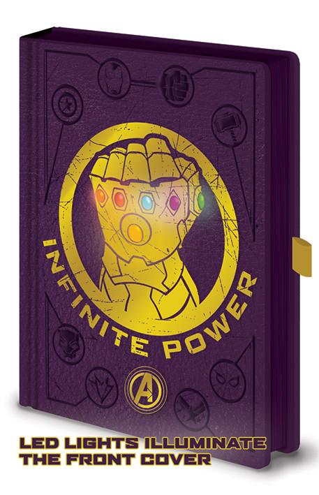 Avengers: Infinity War - Gauntlet LED Notebook