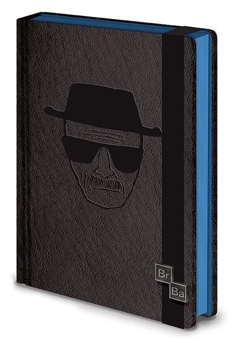 Breaking Bad Premium A5 Notebook Premium A5 - Heisenberg Notebook