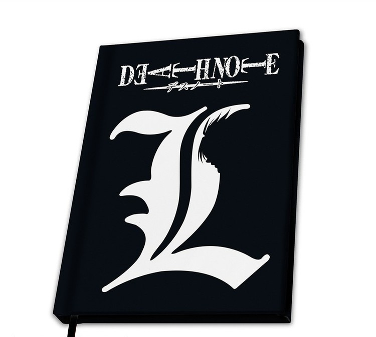 Notebook Death Note - L