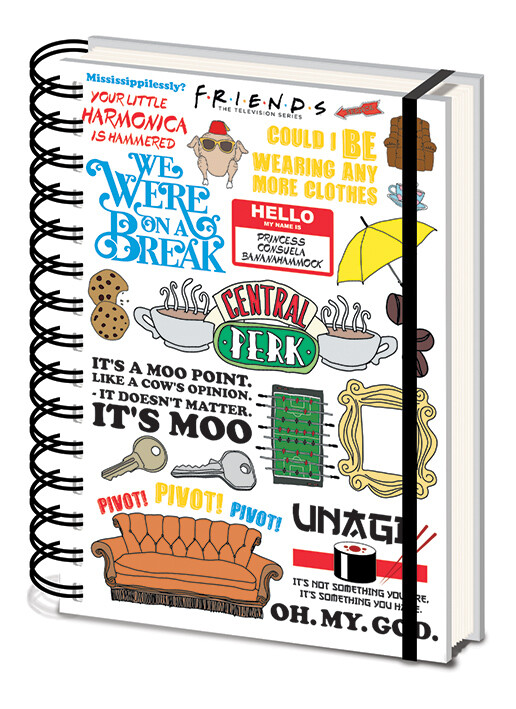 Notebook Friends - The One with the Quotes