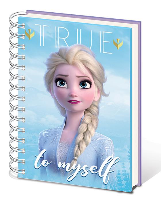 Frozen 2 - Sisters Notebook