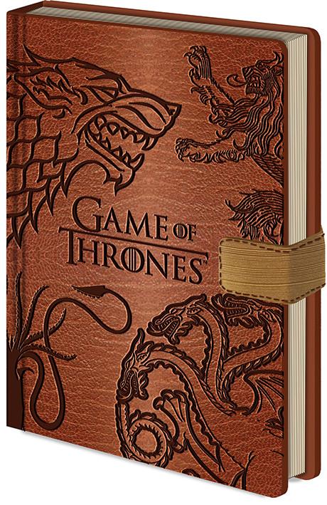Game Of Thrones - Sigils Notebook