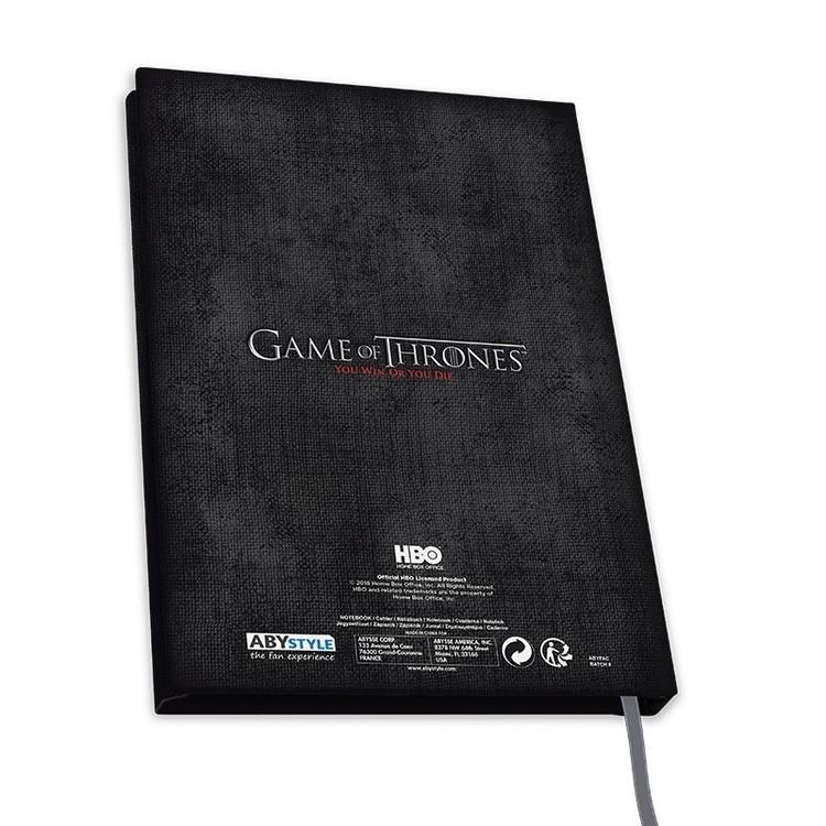 Notebook Game Of Thrones - Stark