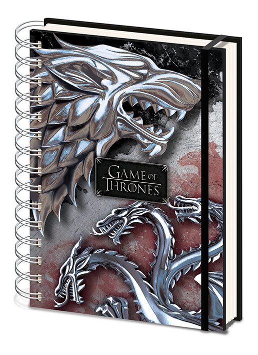 Game Of Thrones - Stark & Targaryen Notebook