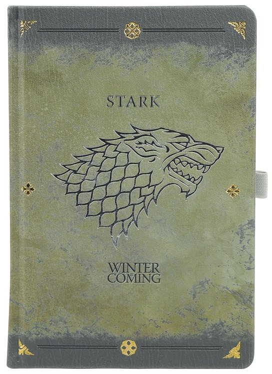 Game Of Thrones - Stark Worn Premium Notebook