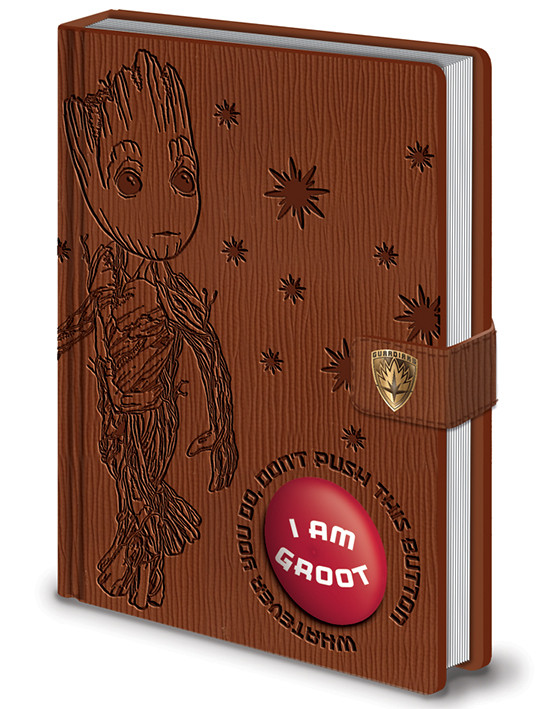 Guardians of the Galaxy Vol. 2 - I Am Groot - PREMIUM LIMITED SOUND NOTEBOOK Notebook