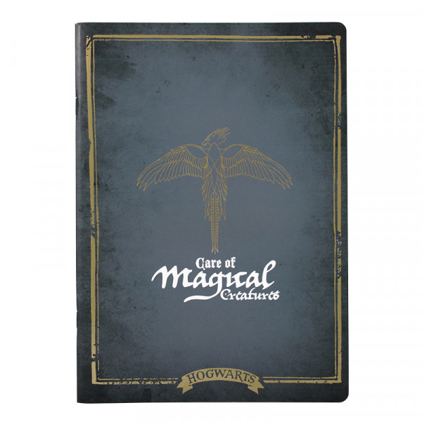 Harry Poter - Magical Creatures A4 Notebook