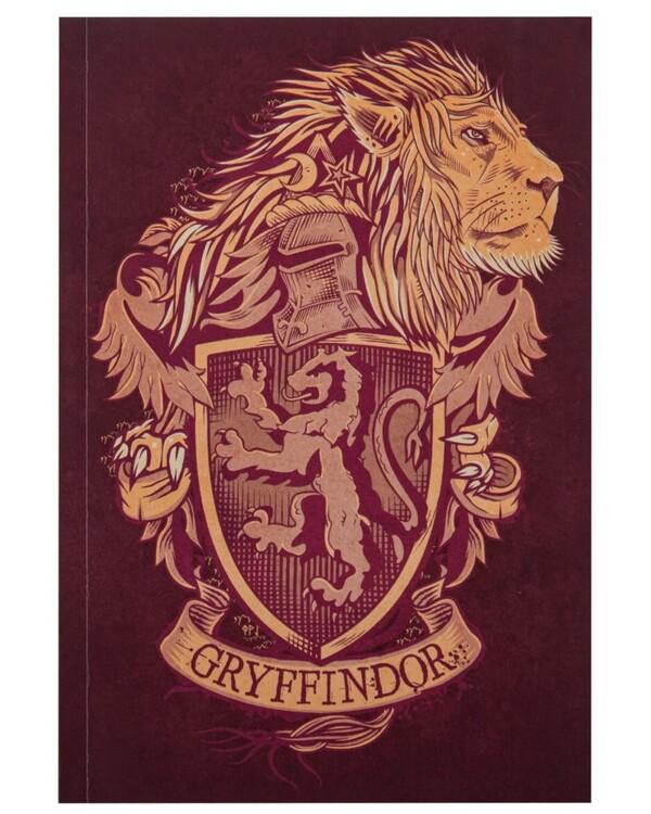 Notebook Harry Potter - Gryffindor