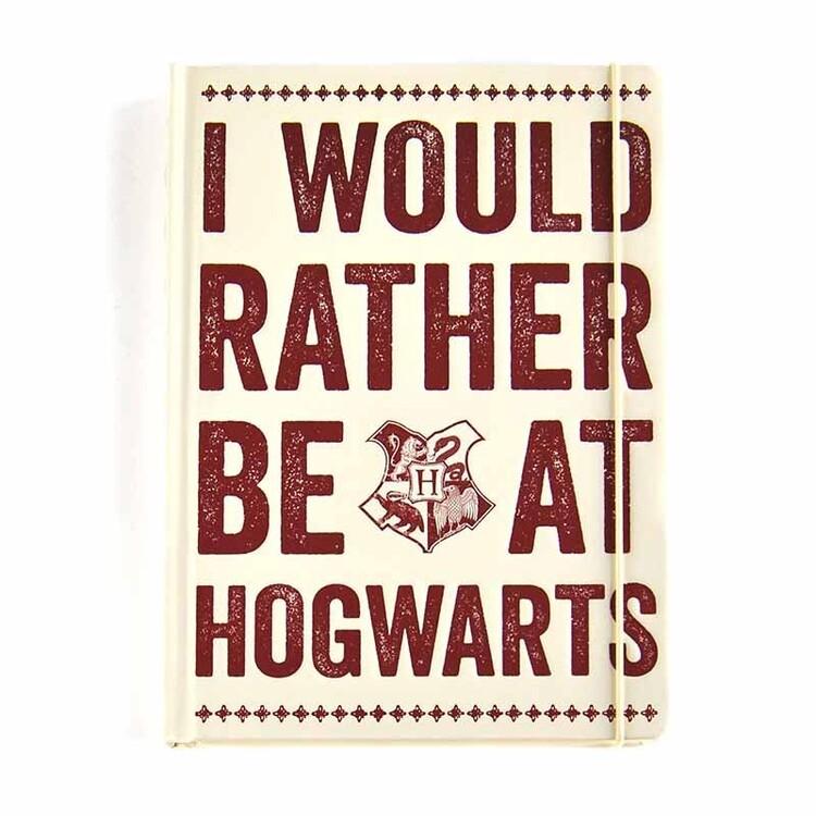Notebook Harry Potter - Hogwarts Slogan